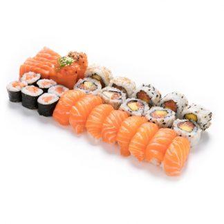 Menu salmão para 2 pessoas
