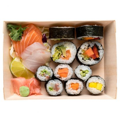 Box Pequena Sashimi