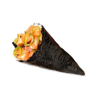 Temaki de Salmão Spicy