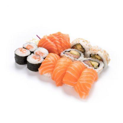 Menu salmão para 1 pessoa