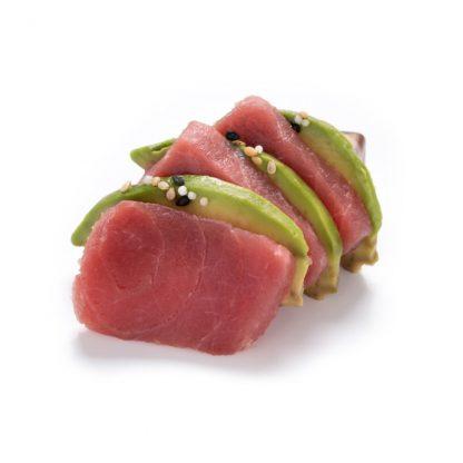 Sashimi Atum e abacate