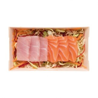 Sashimi Mix – Peixe branco e salmão